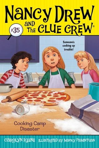 [PDF] [EPUB] Cooking Camp Disaster (Nancy Drew and the Crew Clue, #35) Download by Carolyn Keene