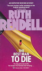 [PDF] [EPUB] The Best Man to Die (Inspector Wexford, #4) Download by Ruth Rendell
