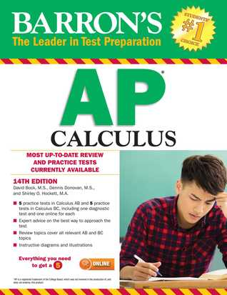 [PDF] [EPUB] Barron's AP Calculus, 14th edition Download by David Bock