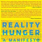 [PDF] [EPUB] Reality Hunger: A Manifesto Download