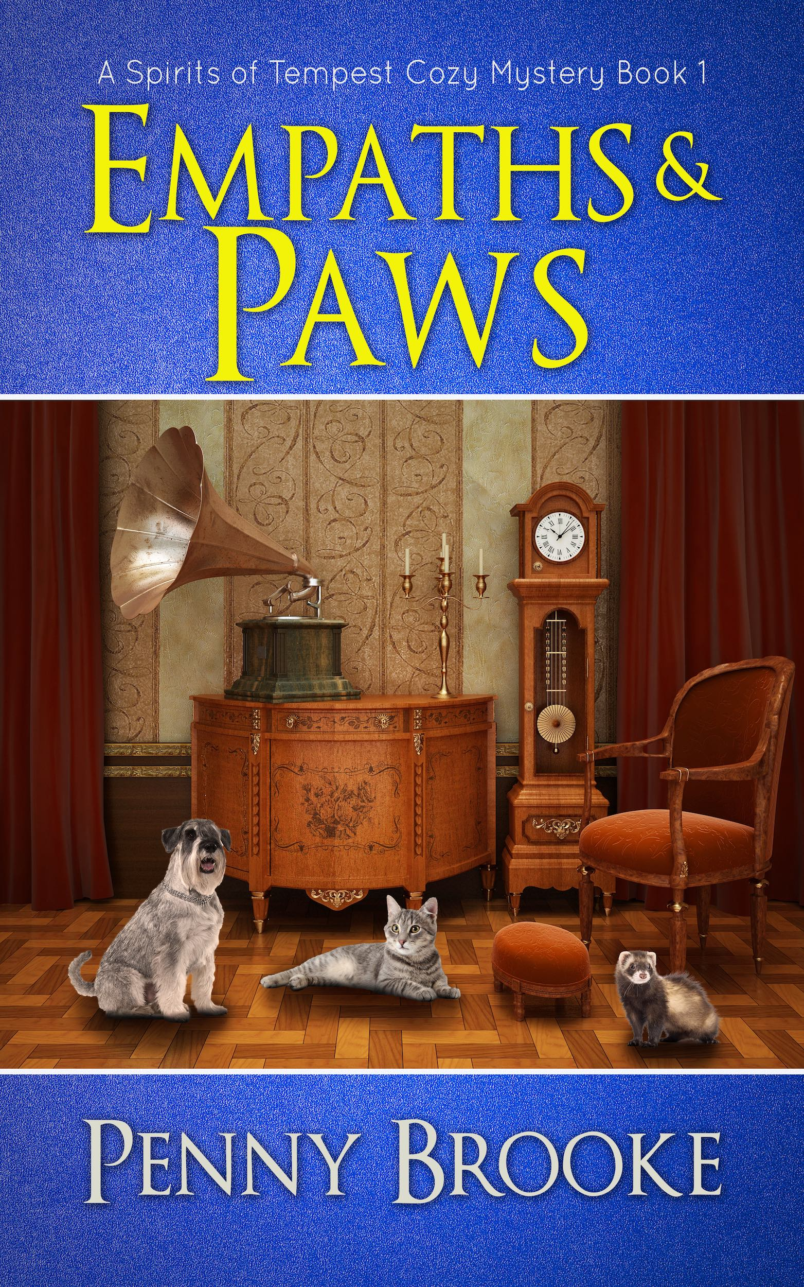 [PDF] [EPUB] Empaths and Paws (A Spirits of Tempest Cozy Mystery Book 1) Download by Penny Brooke