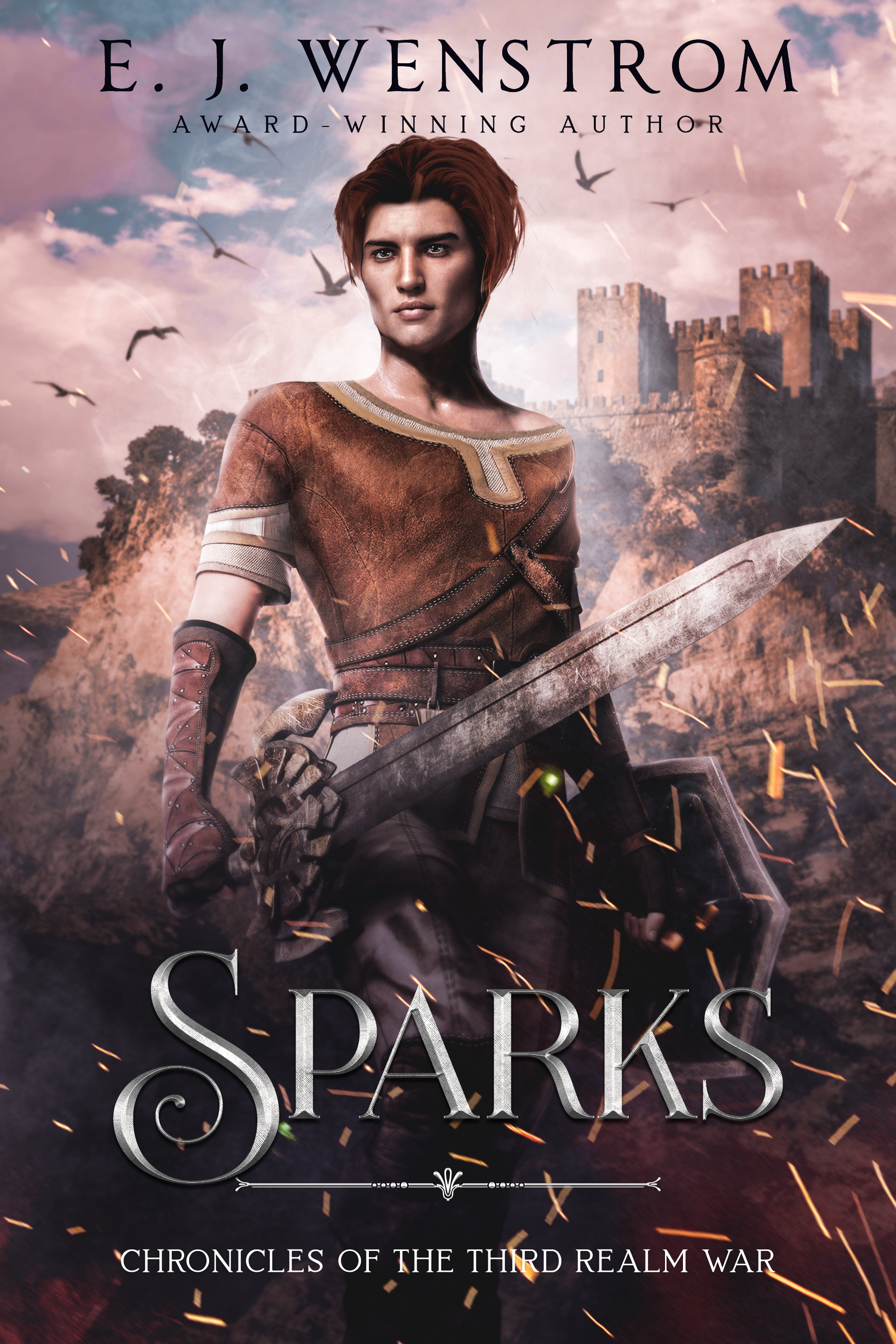 [PDF] [EPUB] Sparks (Chronicles of the Third Realm War #3) Download by E.J. Wenstrom