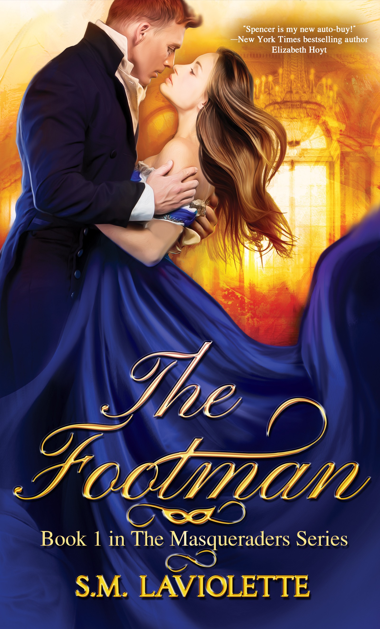 [PDF] [EPUB] The Footman (The Masqueraders, #1) Download by S.M. LaViolette