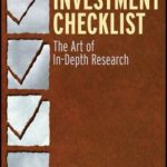 [PDF] [EPUB] The Investment Checklist: The Art of In-Depth Research Download