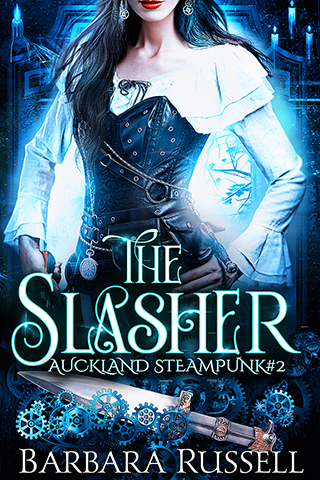 [PDF] [EPUB] The Slasher (Auckland Steampunk, #2) Download by Barbara Russell