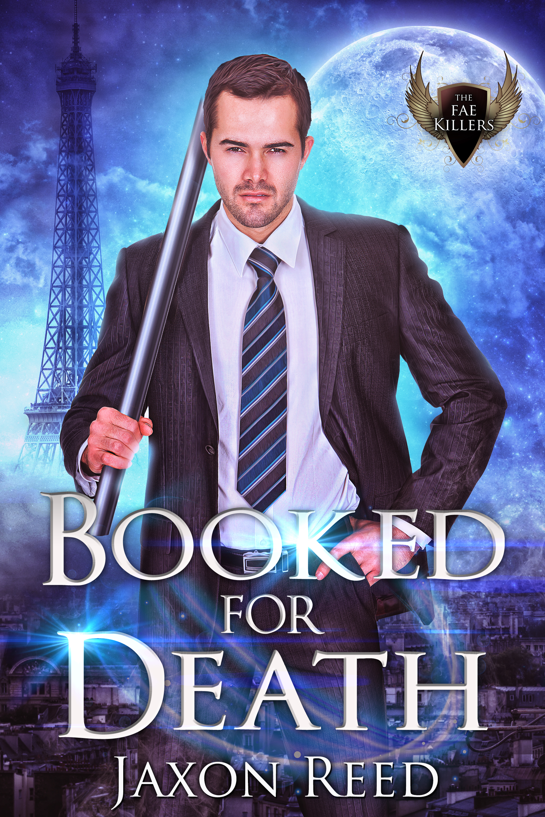 [PDF] [EPUB] Booked for Death (The Fae Killers, #4) Download by Jaxon Reed