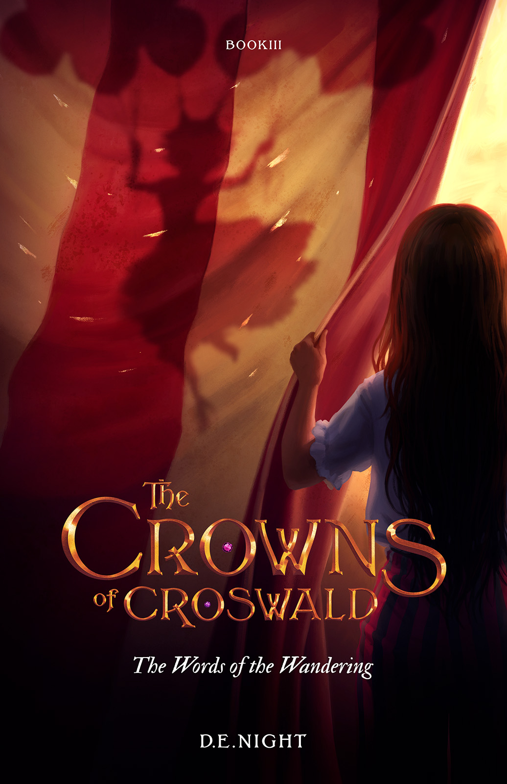 [PDF] [EPUB] The Words of the Wandering (The Crowns of Croswald, #3) Download by D.E. Night