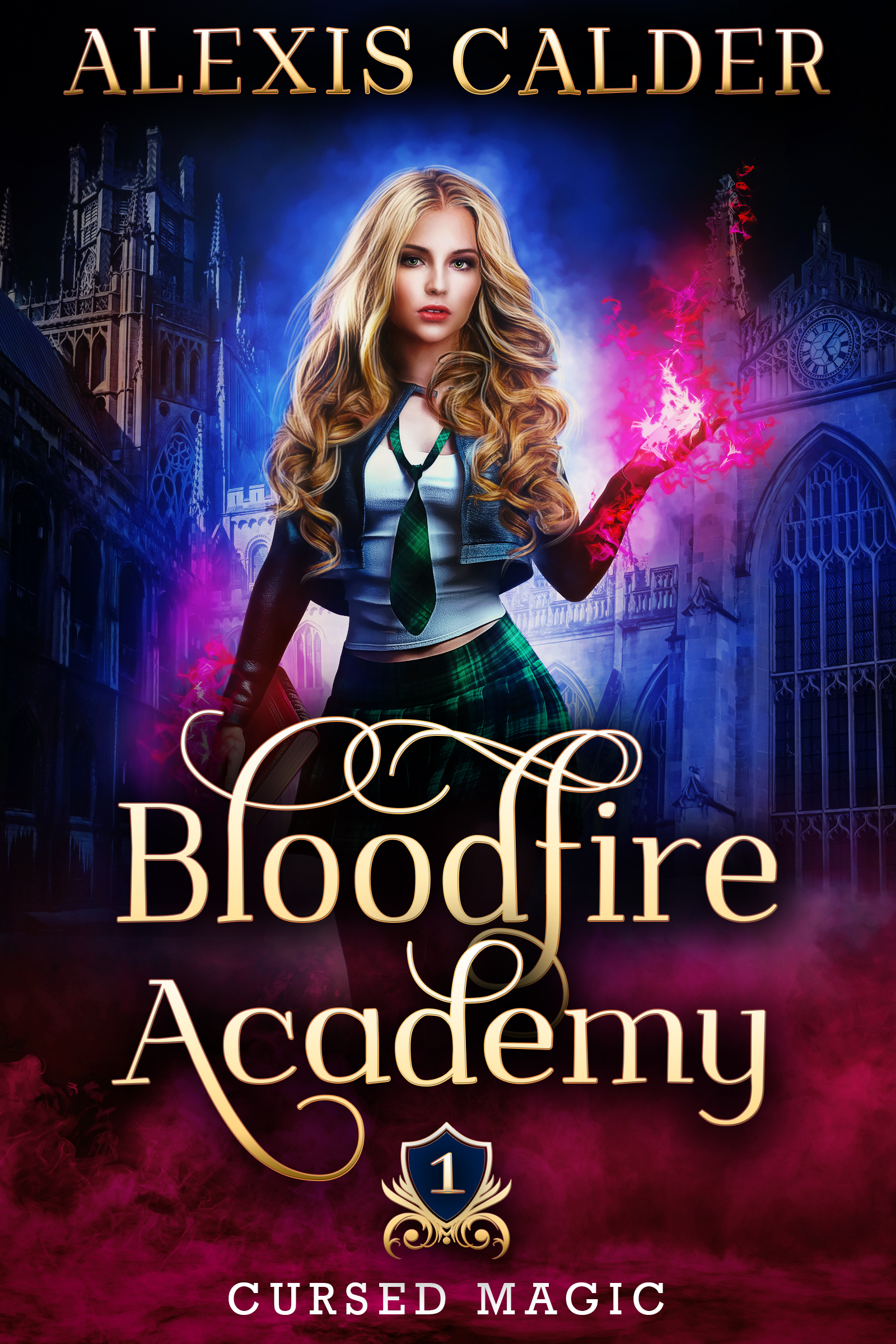 [PDF] [EPUB] Bloodfire Academy (Cursed Magic, #1) Download by Alexis Calder
