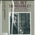 [PDF] [EPUB] All but Impossible!: An Anthology of Locked Room and Impossible Crime Stories by Members of the Mystery Writers of America Download