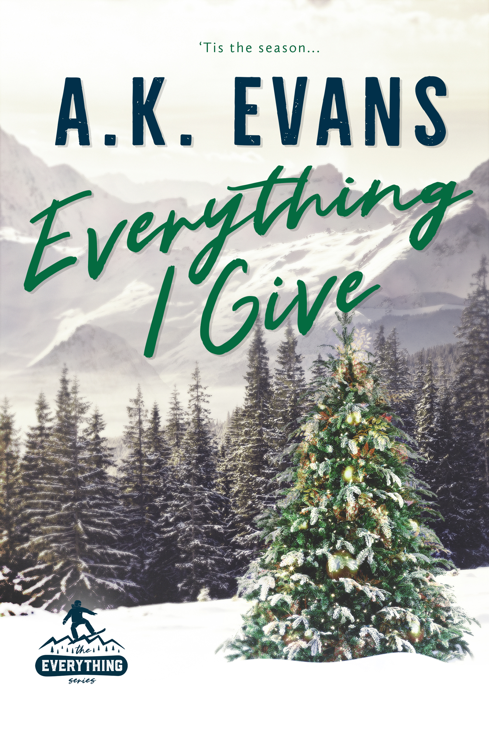 [PDF] [EPUB] Everything I Give  (Everything, #5) Download by A.K. Evans