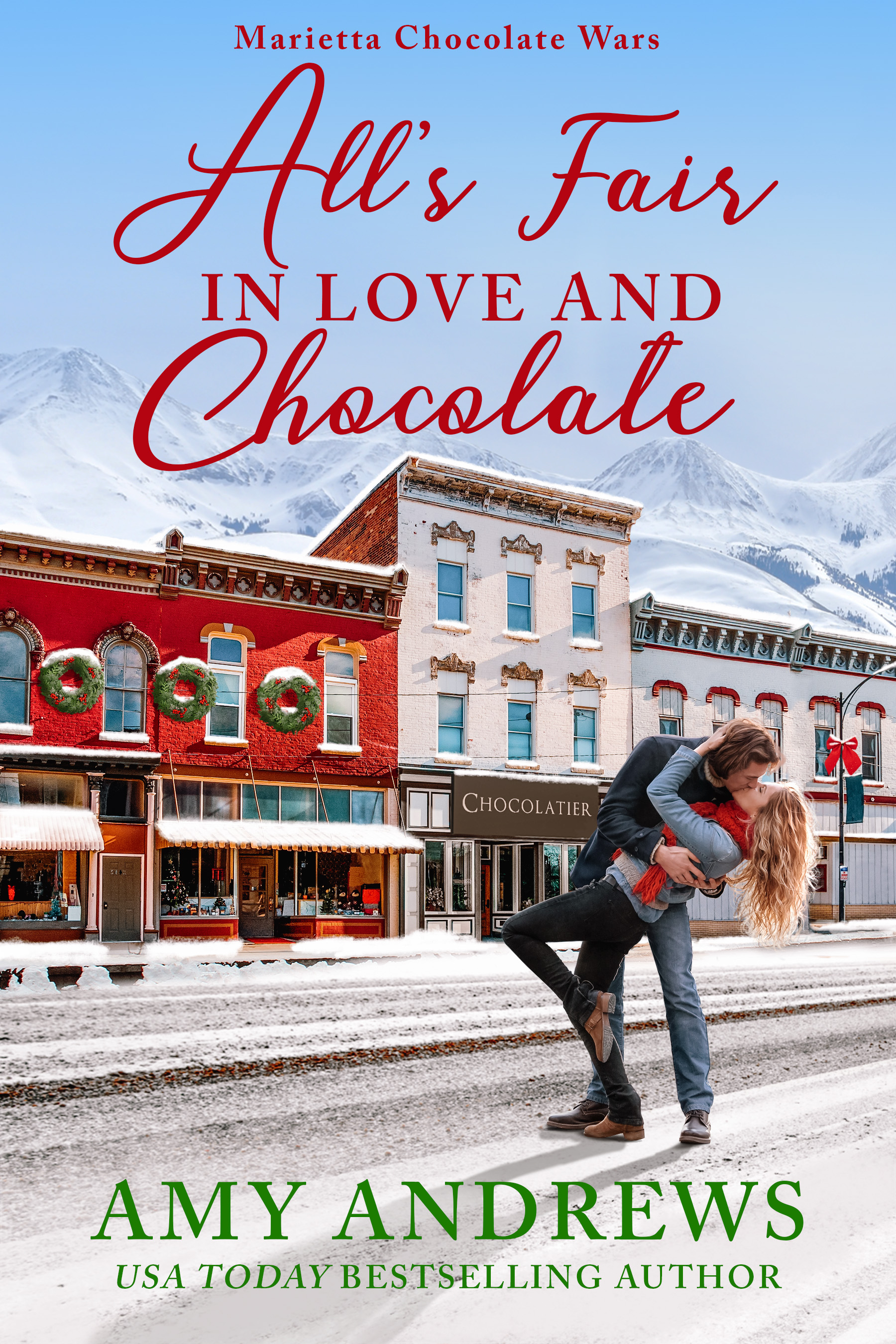 [PDF] [EPUB] All's Fair in Love and Chocolate (Marietta Chocolate Wars, #1) Download by Amy Andrews