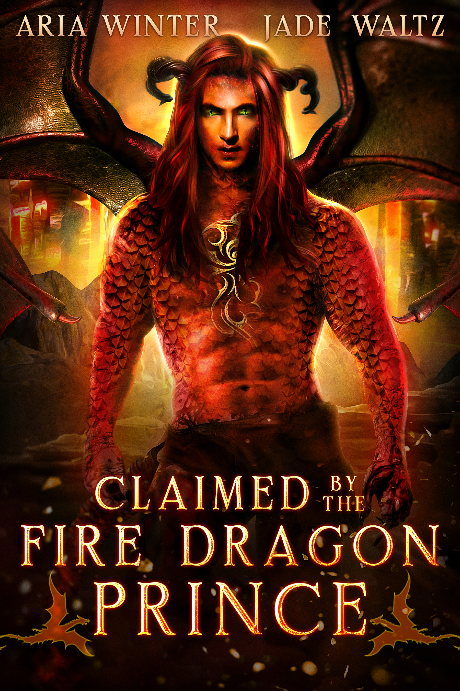 [PDF] [EPUB] Claimed by the Fire Dragon Prince (Elemental Dragon Warriors #1) Download by Aria Winter
