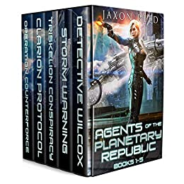 [PDF] [EPUB] Agents of the Planetary Republic Books 1-5 Download by Jaxon Reed