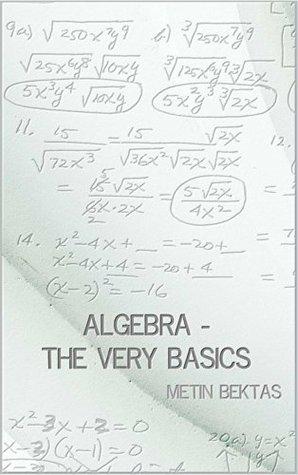 [PDF] [EPUB] Algebra - The Very Basics Download by Metin Bektas