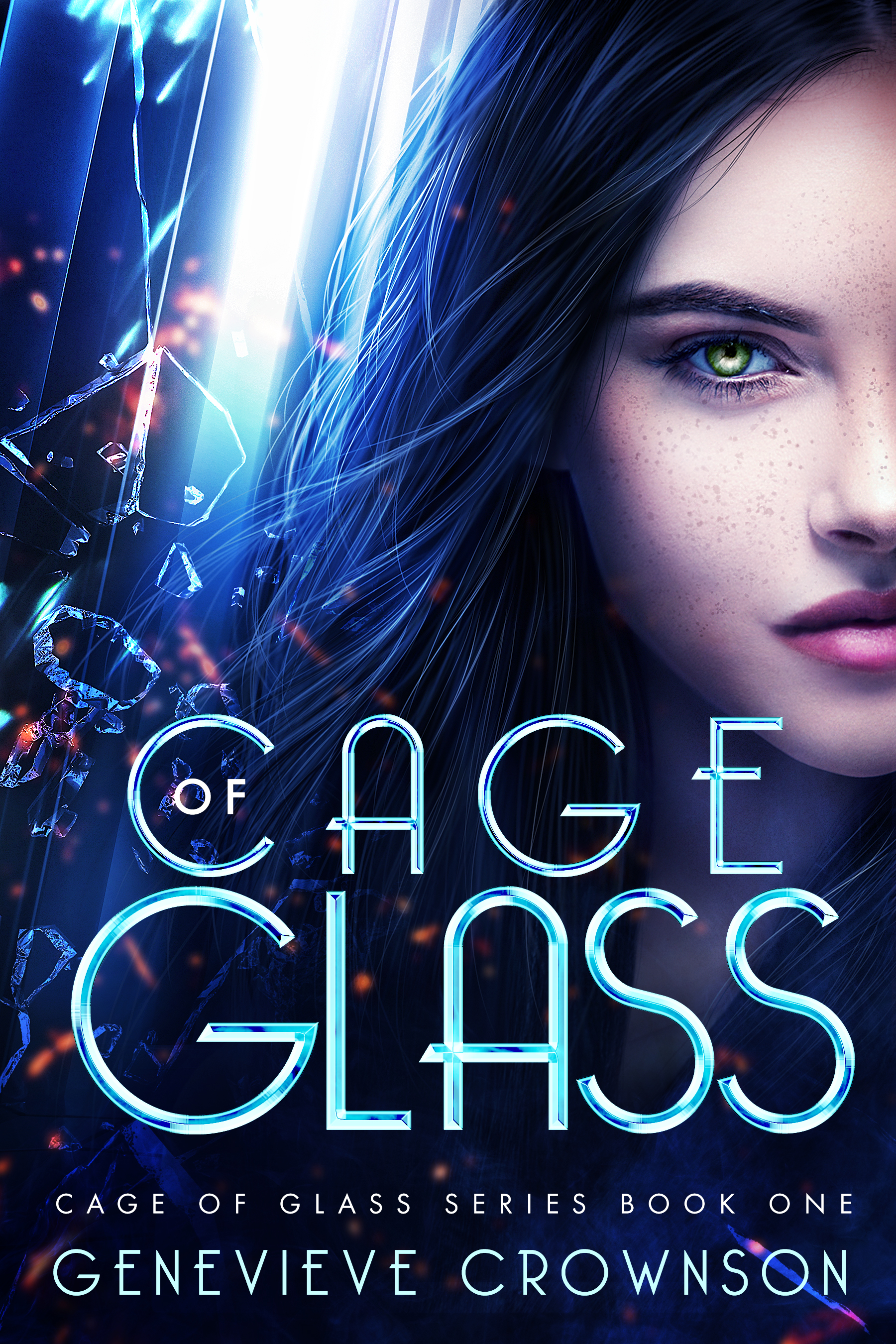 [PDF] [EPUB] Cage of Glass (Cage of Glass Series, #1) Download by Genevieve Crownson