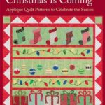 [PDF] [EPUB] Christmas Is Coming: Applique Quilt Patterns to Celebrate the Season Download