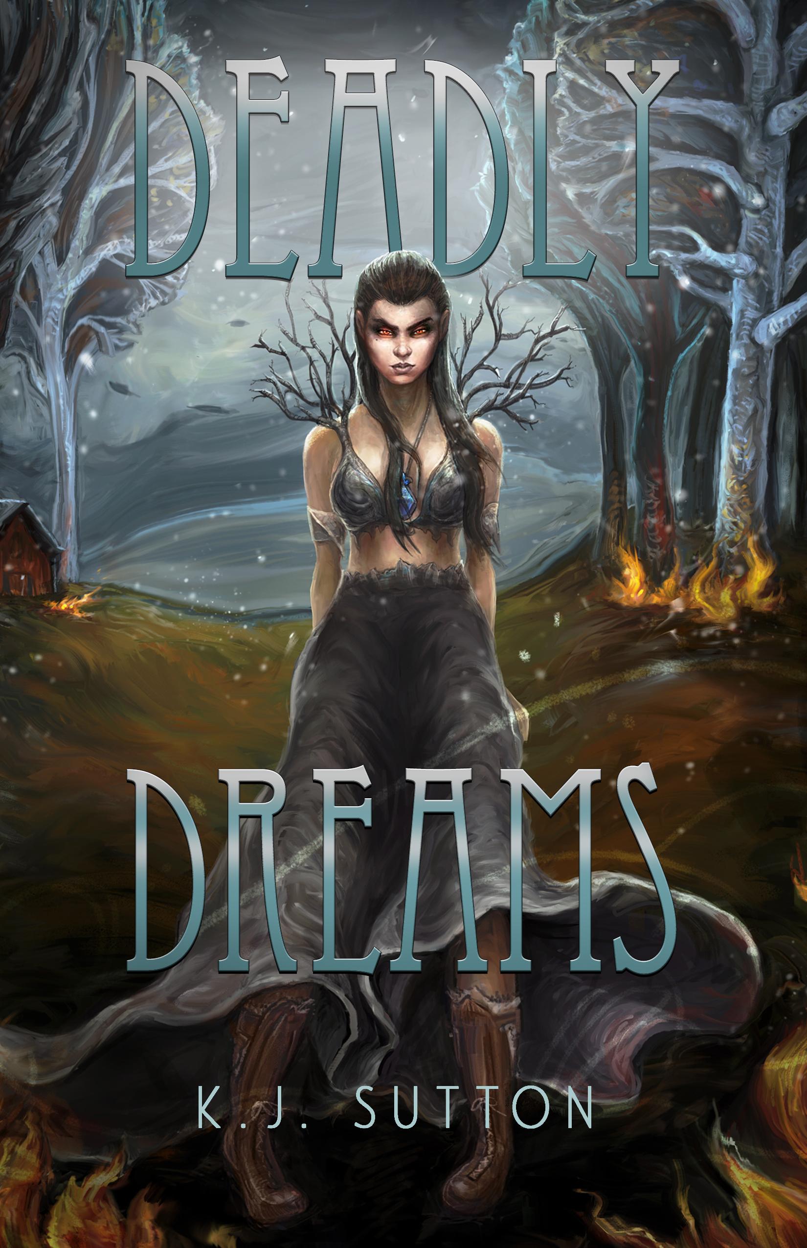[PDF] [EPUB] Deadly Dreams (Fortuna Sworn, #3) Download by K.J. Sutton