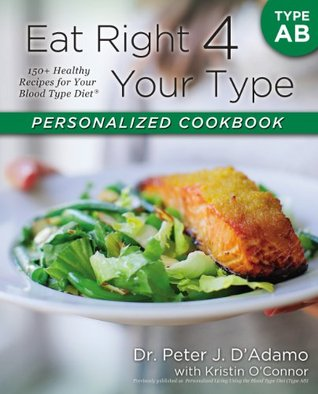 [PDF] [EPUB] Eat Right 4 Your Type Personalized Cookbook Type AB: 150+ Healthy Recipes For Your Blood Type Diet Download by Peter J. D'Adamo