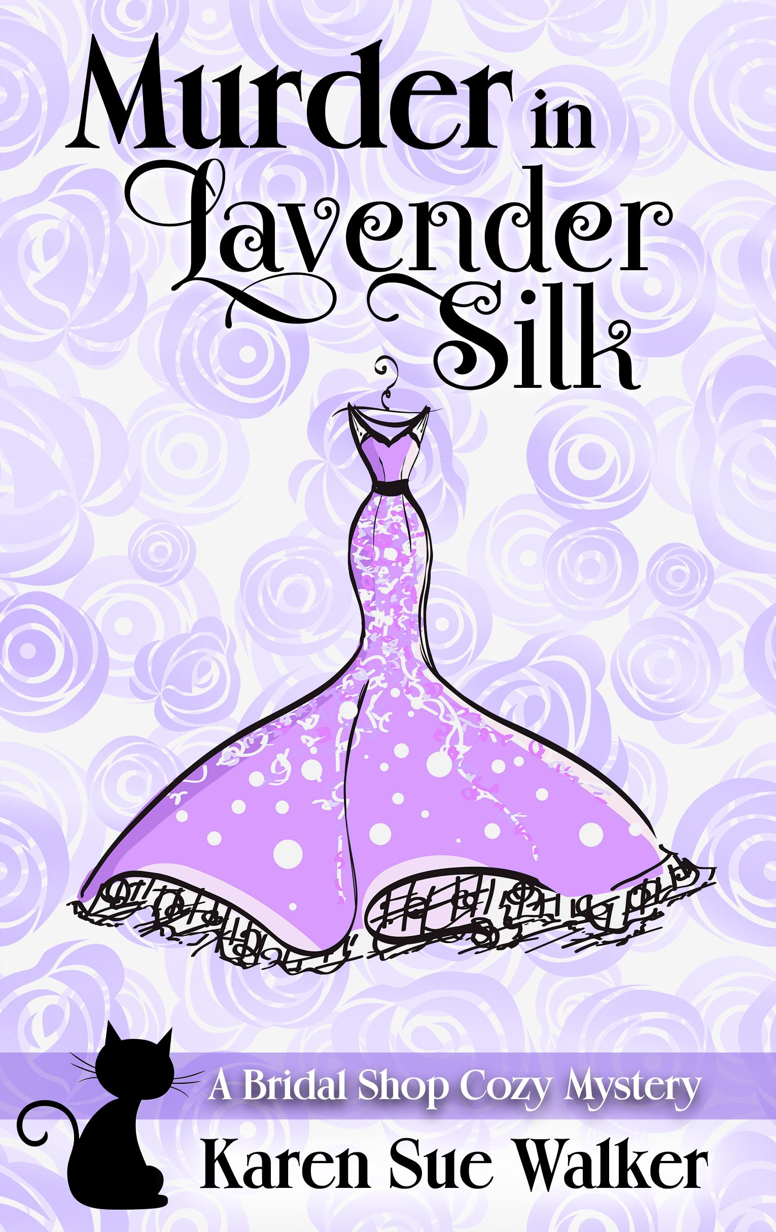 [PDF] [EPUB] Murder in Lavender Silk (Bridal Shop Mysteries #4) Download by Karen Sue Walker
