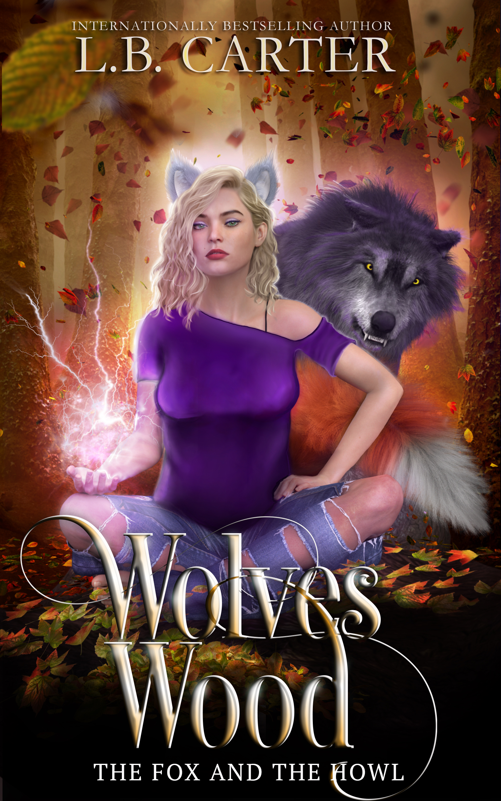 [PDF] [EPUB] Wolves Wood (The Fox and the Howl, #1) Download by L.B. Carter